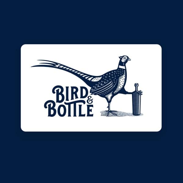 Image of Bird & Bottle Gift Card