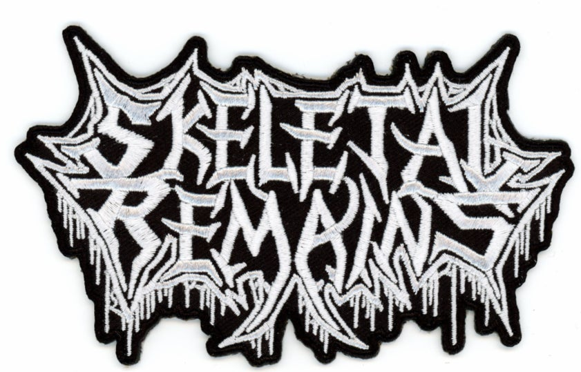 Skeletal Remains Logo Patches