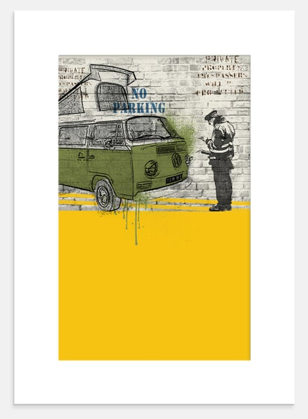 Image of Camper Parking Ticket-Print