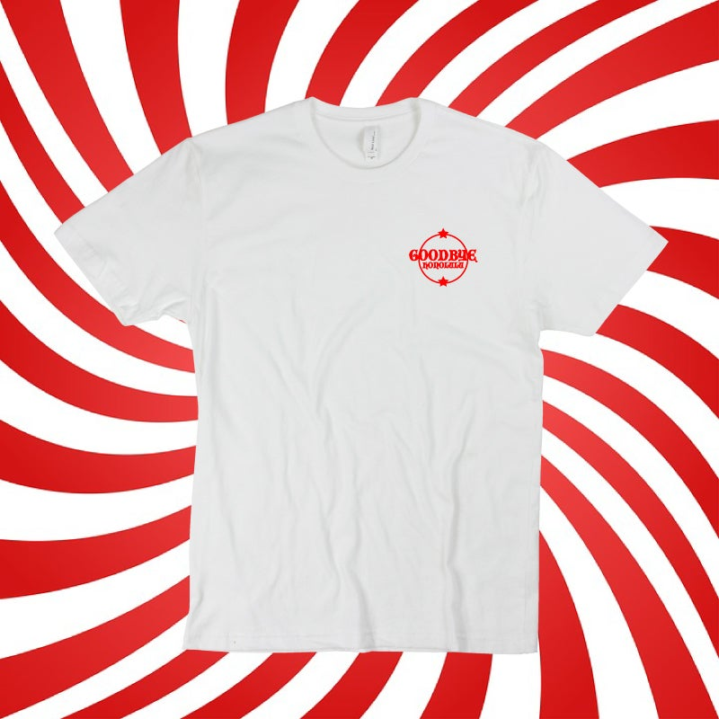 Image of Goodbye Honolulu Red Crest T-Shirt