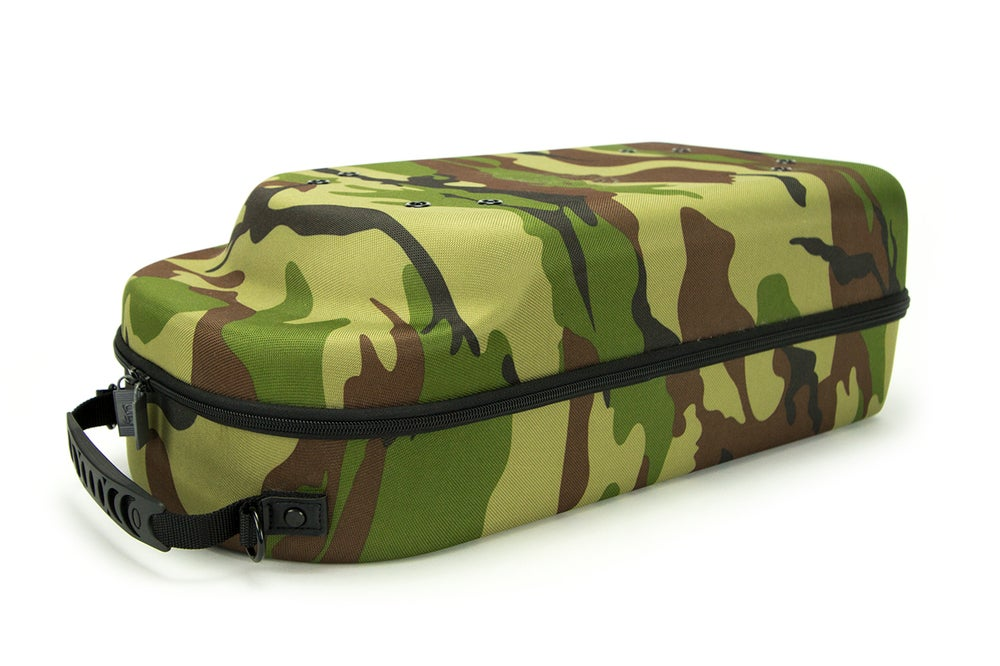 Image of HG 12 Cap Travel Case with Free New Era brand sock and belt