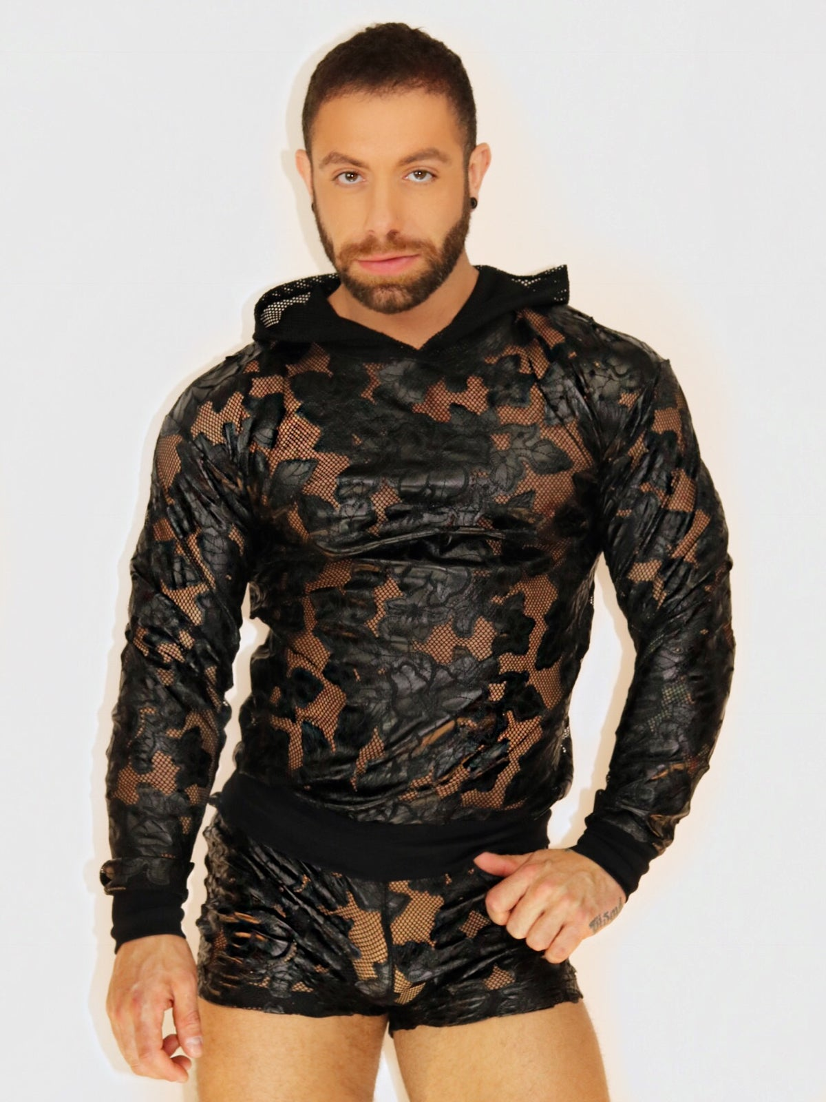 Image of FLORAL FETISH SWEATSHIRT