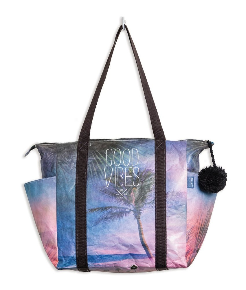 "Image of NEW!  GN4LW x MIXT STUDIO Collab  ""Good Vibes"" Tote Bag!"