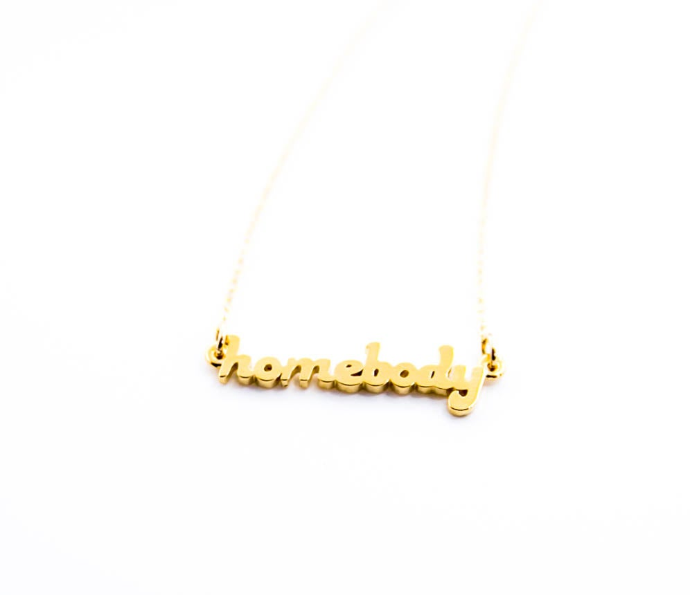 Image of Homebody Necklace (PRE-SALE 5-6 weeks to ship)