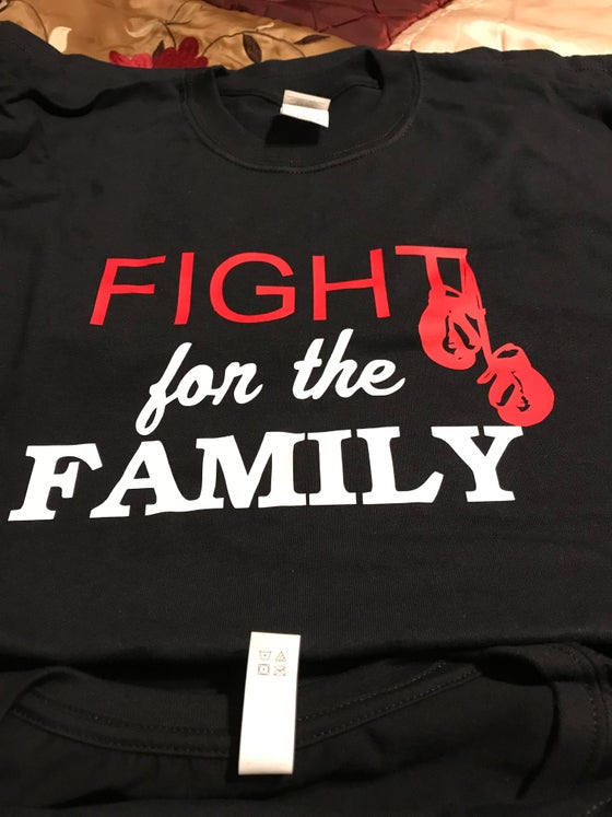 Image of Fight 4 The Family T-shirt