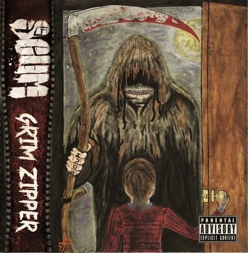 Image of SCUM: GRIM ZIPPER   CD
