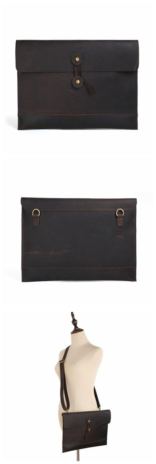 Image of Handmade Fashion Envelope Clutch Purse Women Messenger Bag Vintage Shoulder Bag 8890