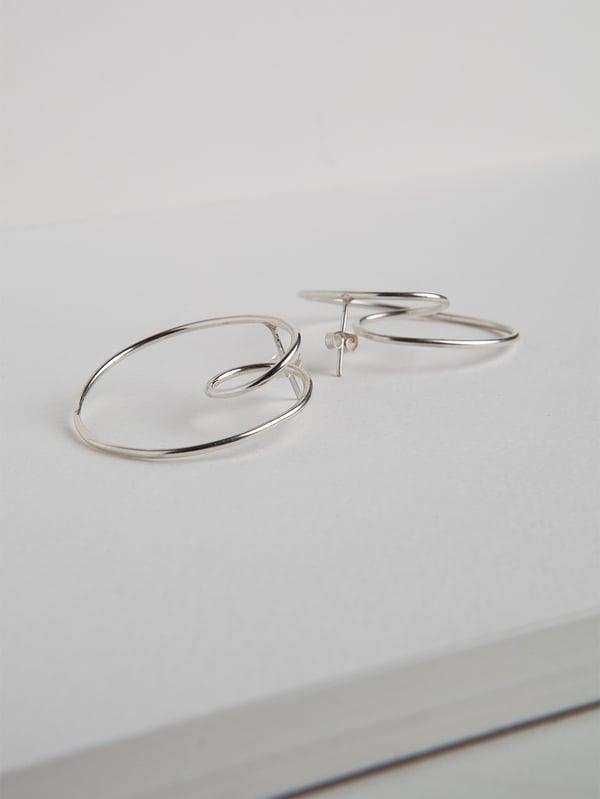 Image of NODI orecchini in argento