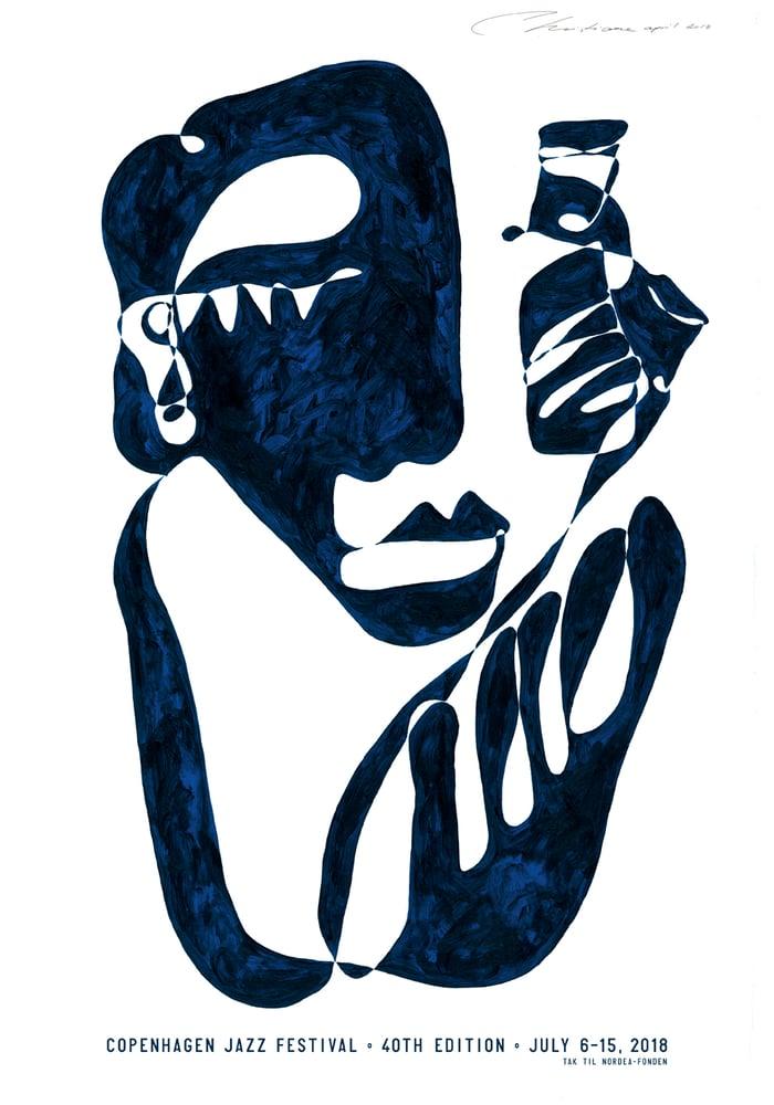 Image of Art Poster – Copenhagen Jazz Festival 2018  (ships again from August 21st)