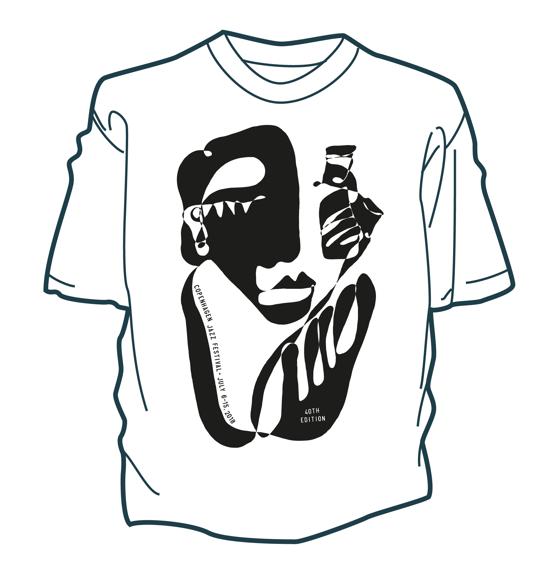 Image of Øko T-Shirt – Copenhagen Jazz Festival 2018
