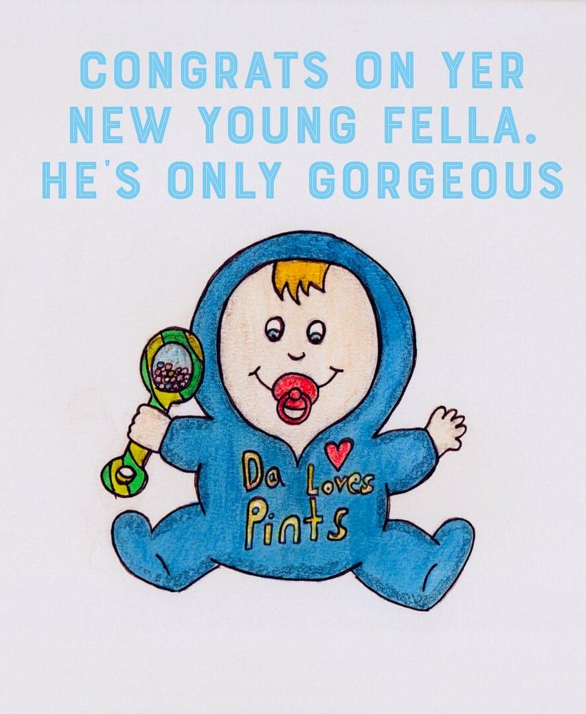 Image of New born boy