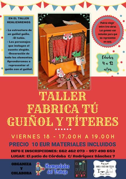Image of Taller de fabricación de guiñol y títeres