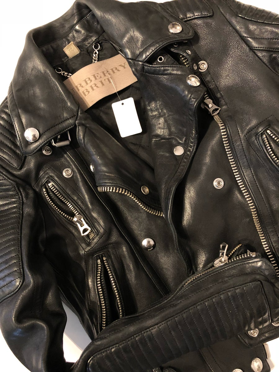Image of BURBERRY BRIT BIKER JACKET