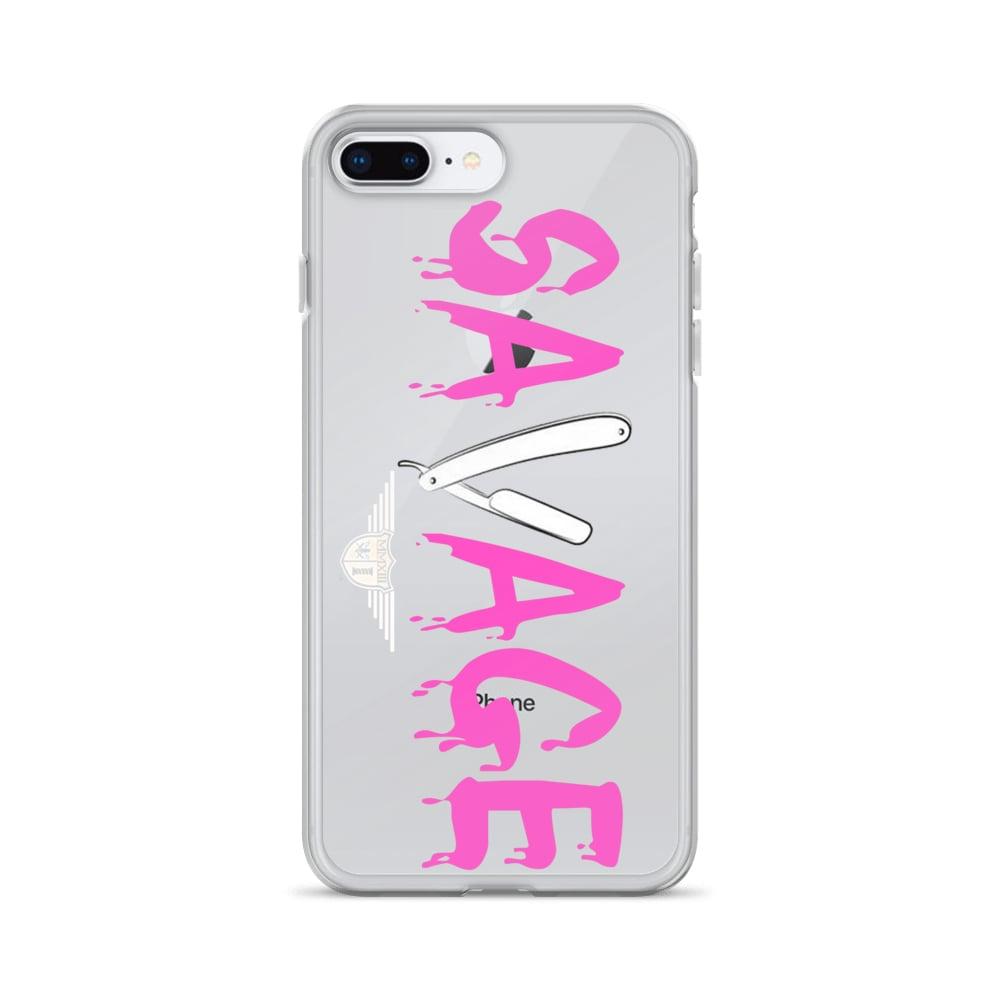 Image of Savage (Pink) Phone Case