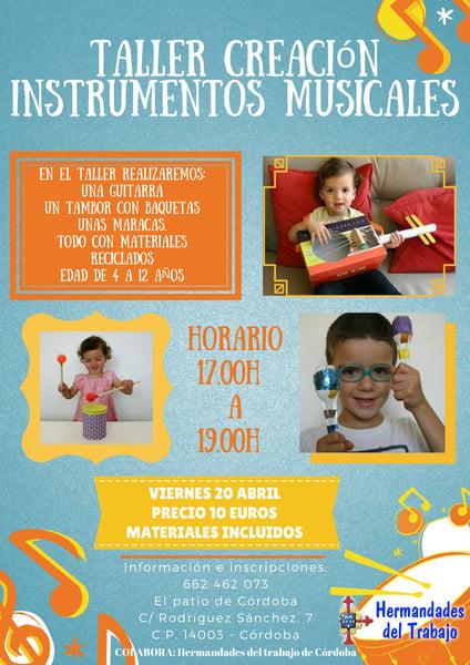 Image of Taller creación instrumentos musicales