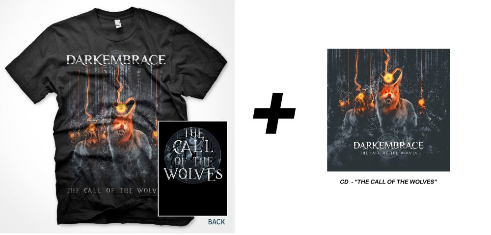 Image of The Call of the Wolves BUNDLE = t-shirt + cd !