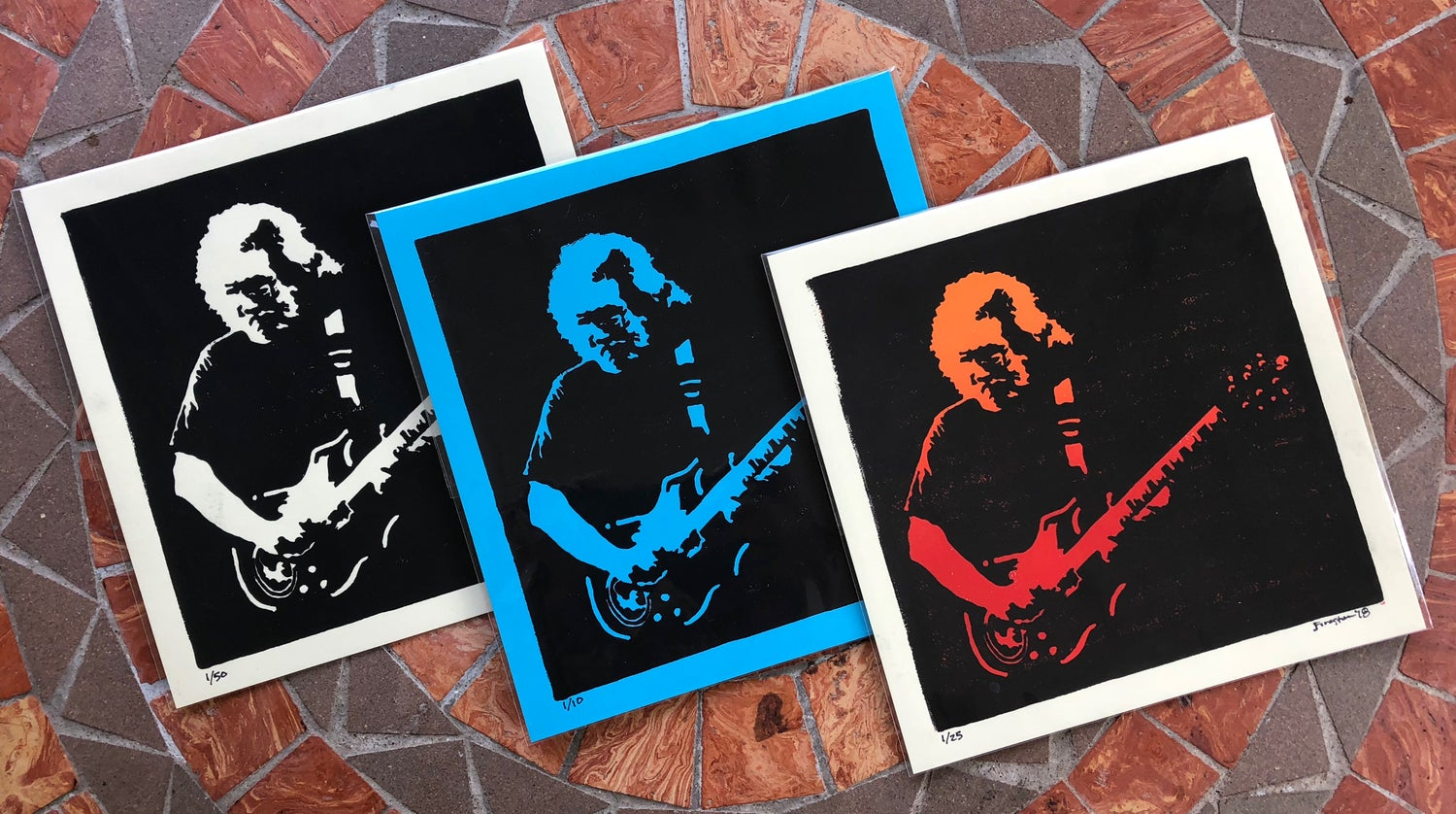 Image of Jerry Garcia print