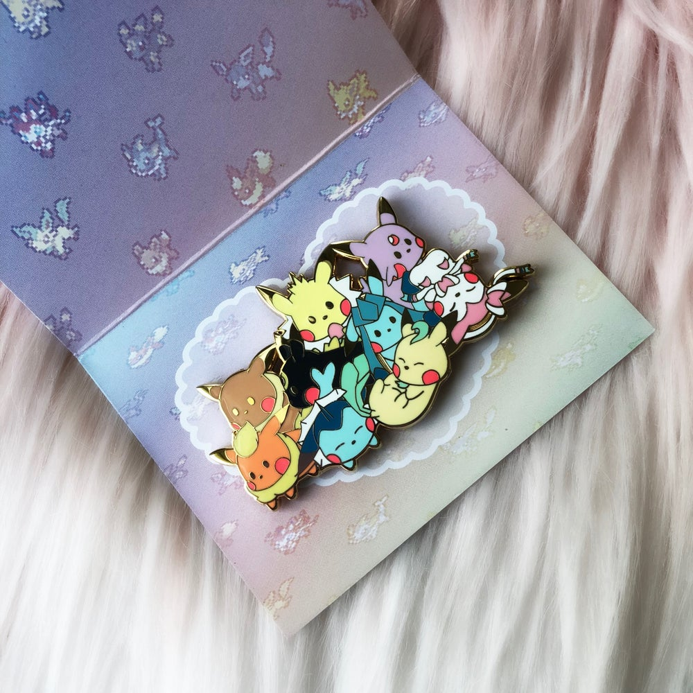 Image of Pika Eeveelutions ♡ Chocolona's Art Collaboration