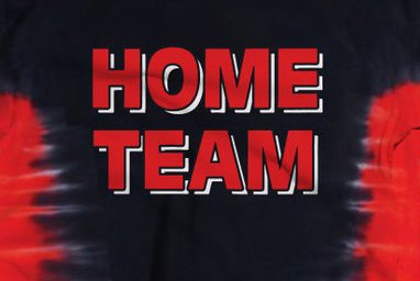 Image of HOME TEAM Red & Black