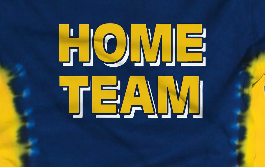 Image of HOME TEAM Navy & Gold