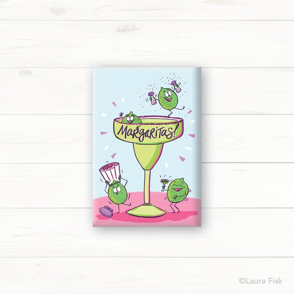 Image of Margaritas Fridge Magnet