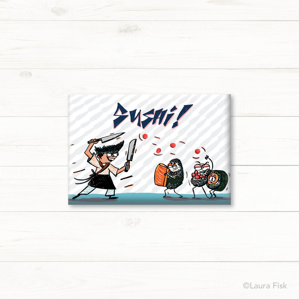 Image of Sushi Fridge Magnet