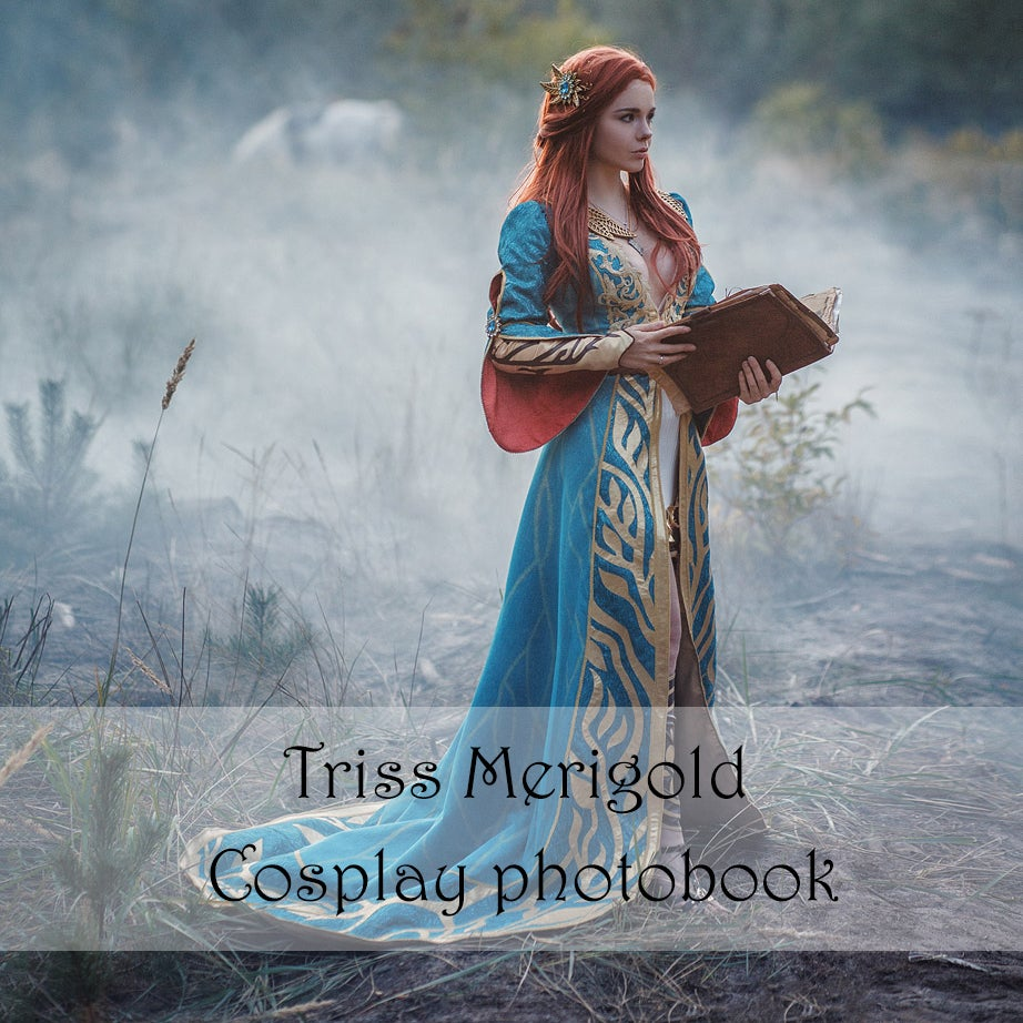 Image of [FREE SHIPPING] Witcher Wild Hunt Triss Merigold Cosplay Photobook by Fenix Fatalist