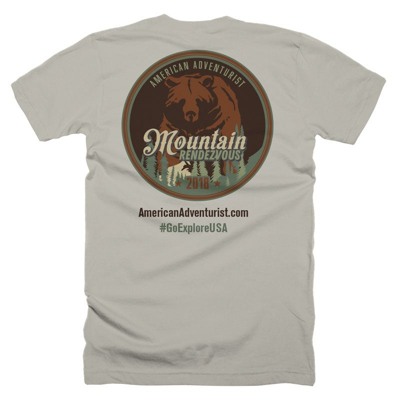 Image of 2018 Mountain Rendezvous T-Shirt