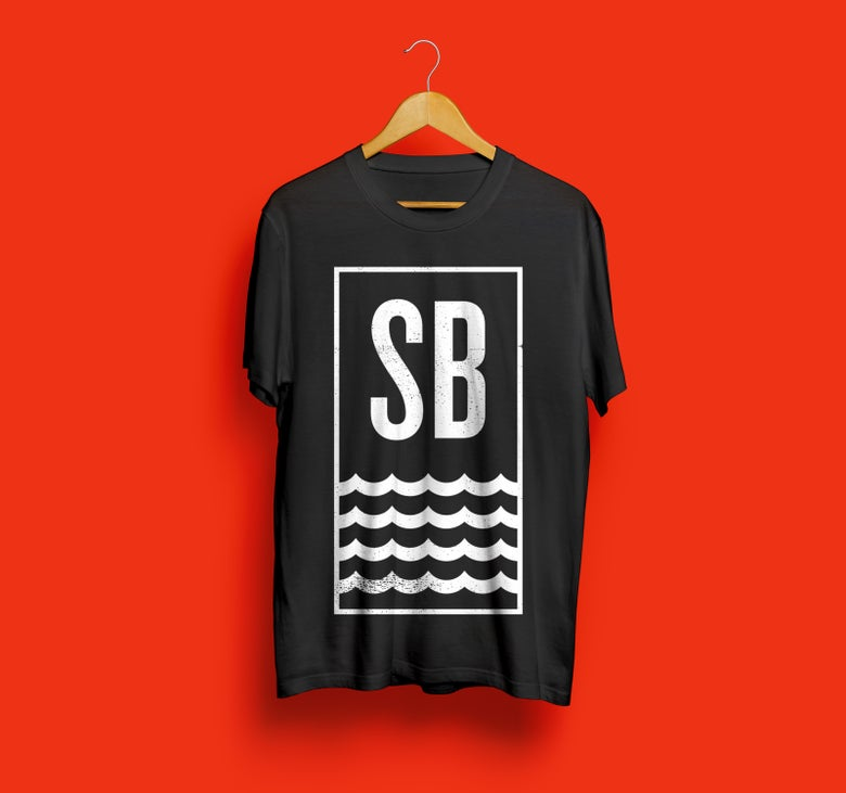 Image of SB  Black Tee