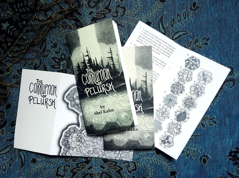 Image of Dungeon Zine - The Corruption of Pelursk