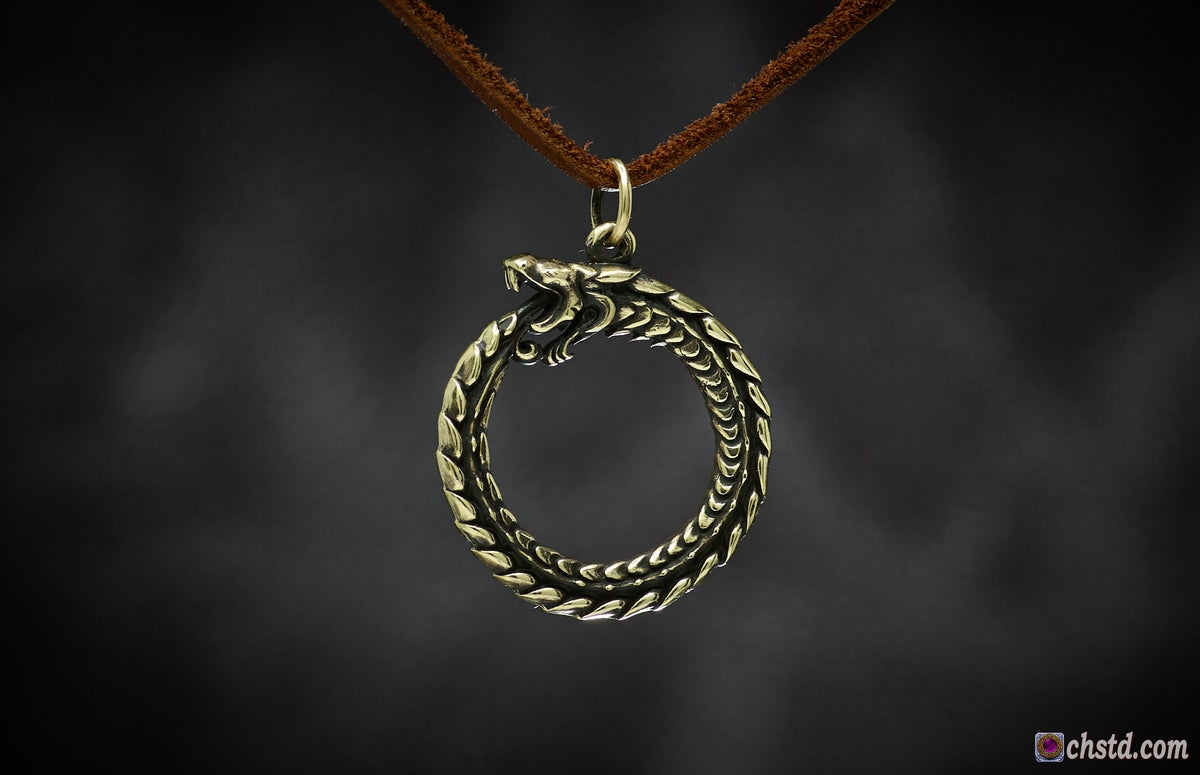 C H Studio Ouroboros Serpent Eating Its Own Tail