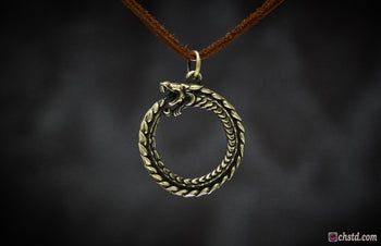 Image of OUROBOROS :: Serpent Eating its Own Tail
