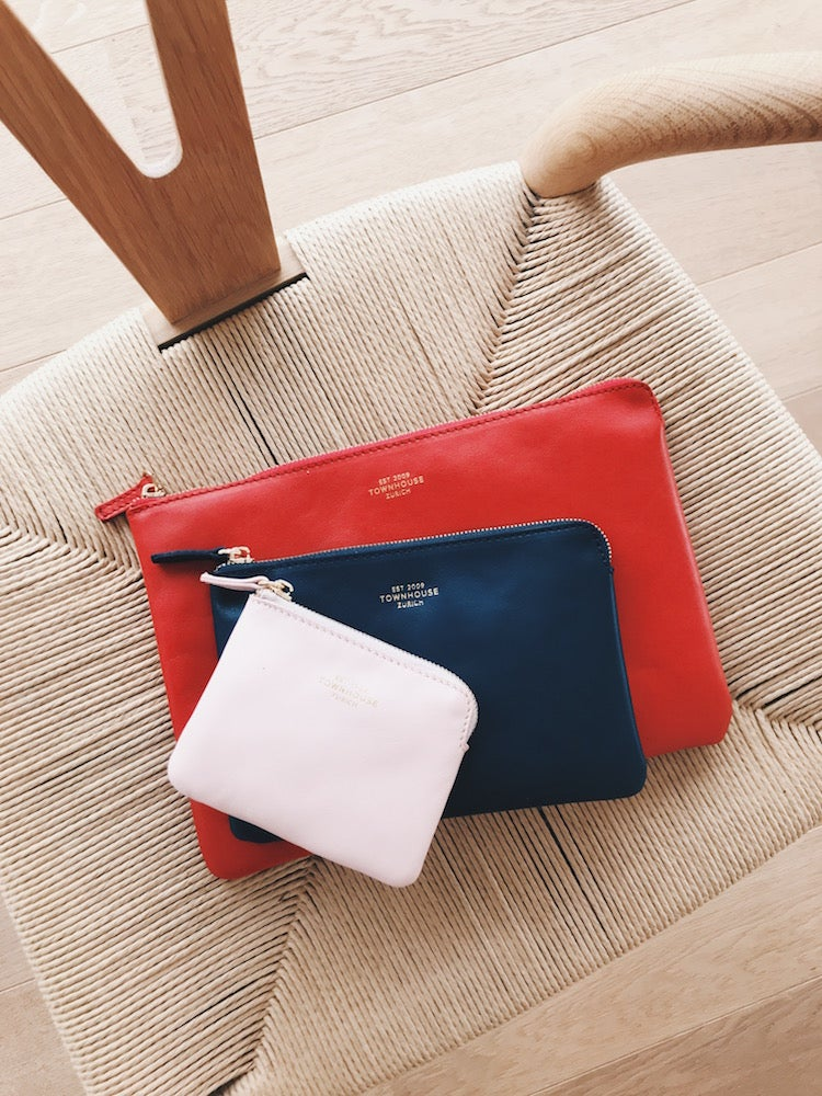 Image of (Customizable) Smooth Leather Clutch