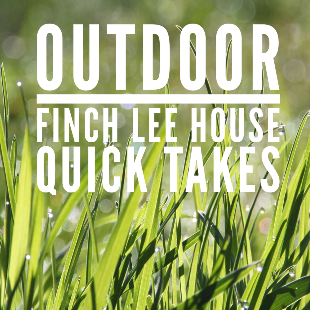 Image of Finch-Lee Outdoor Quick Takes