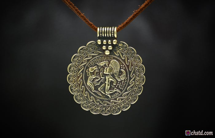BRACTEATE with RUNES