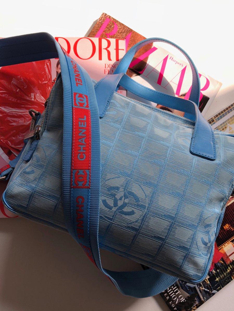 Image of VINTAGE CHANEL SPORT MESSENGER BAG
