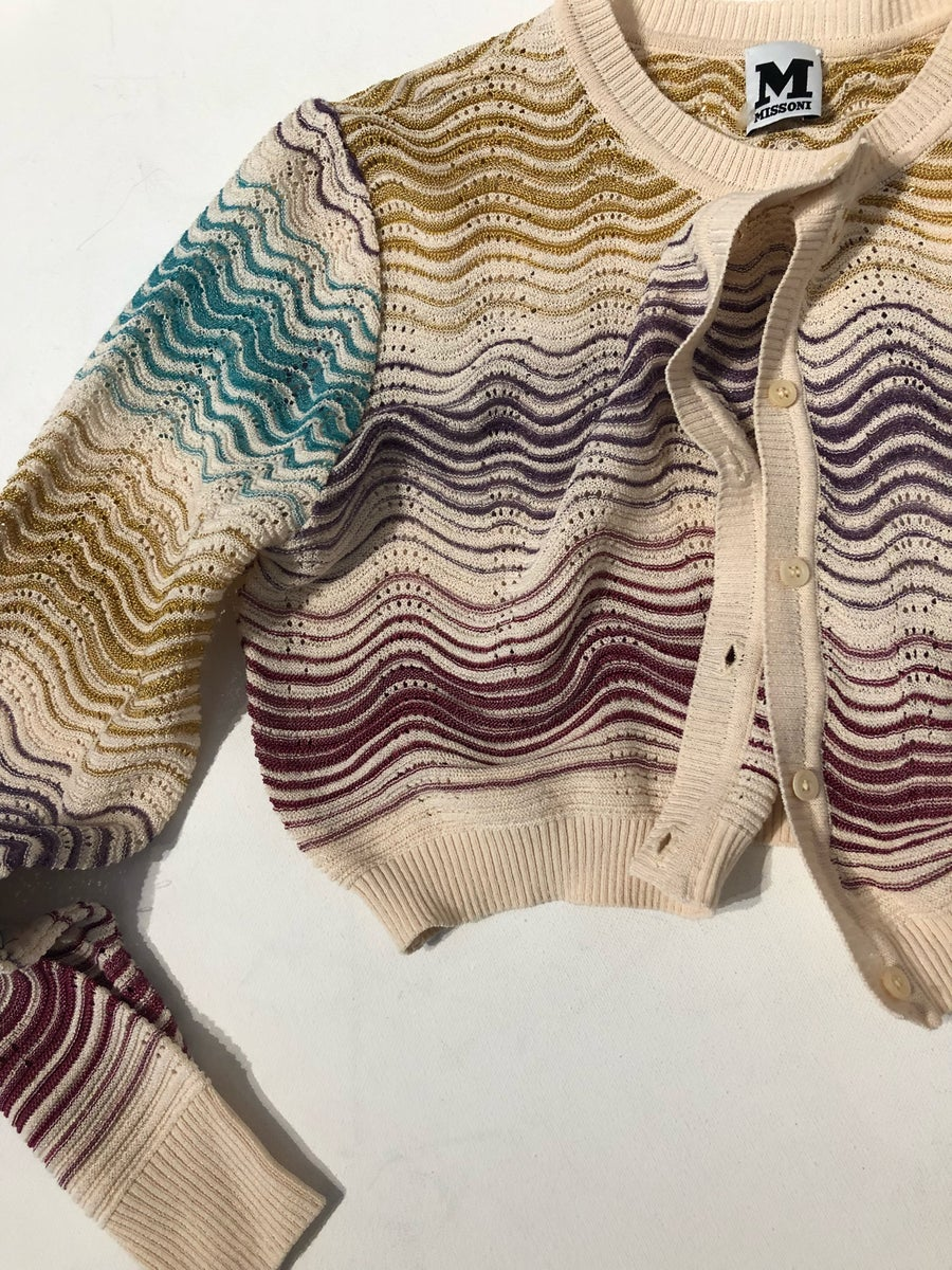 Image of MISSONI CROPPED CARDIGAN
