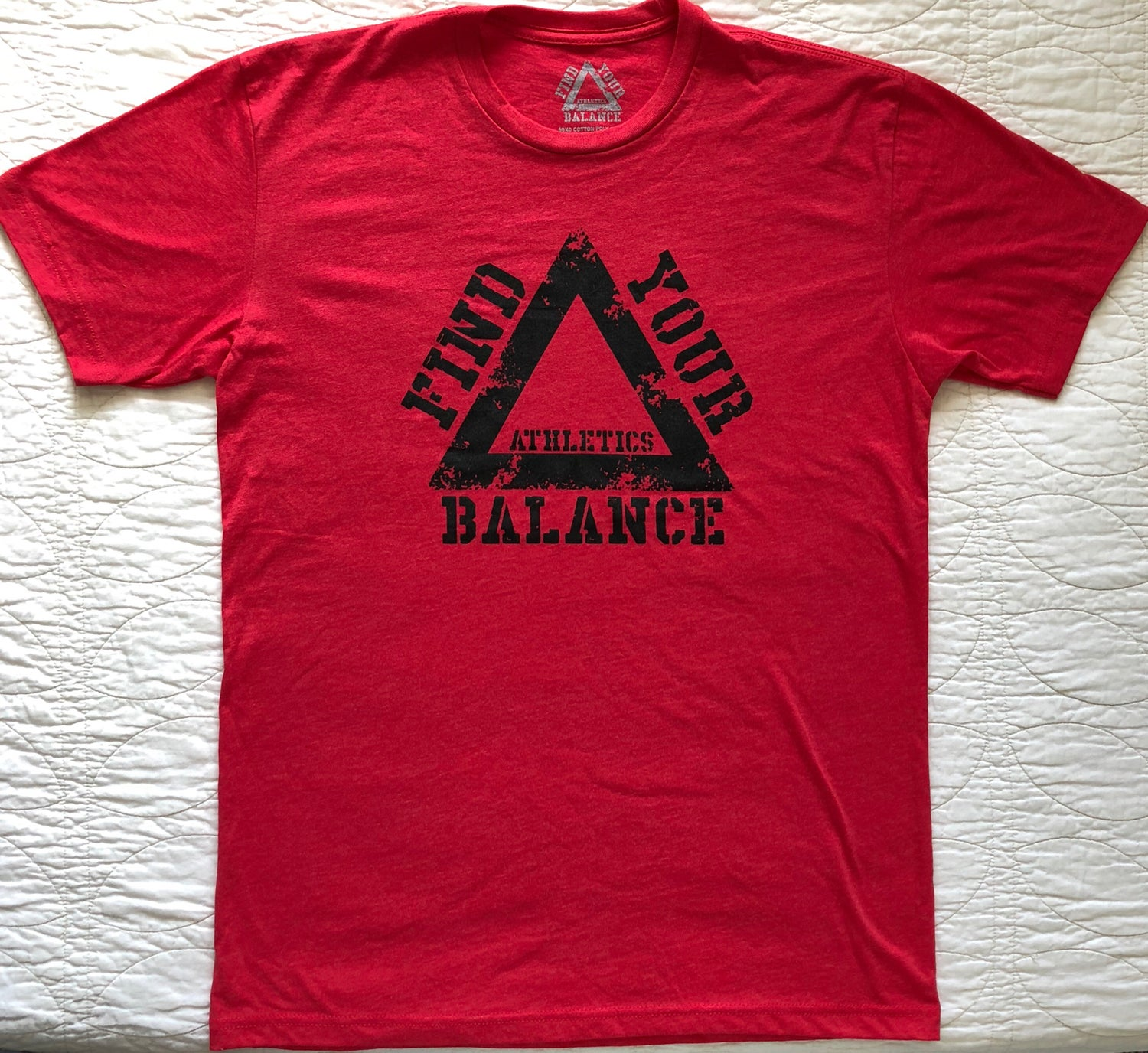 "Image of ""BFL"" MENS CREW - RED"