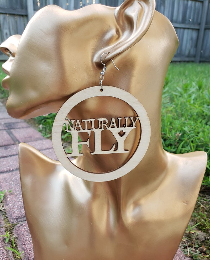 Image of Naturally Fly Earrings