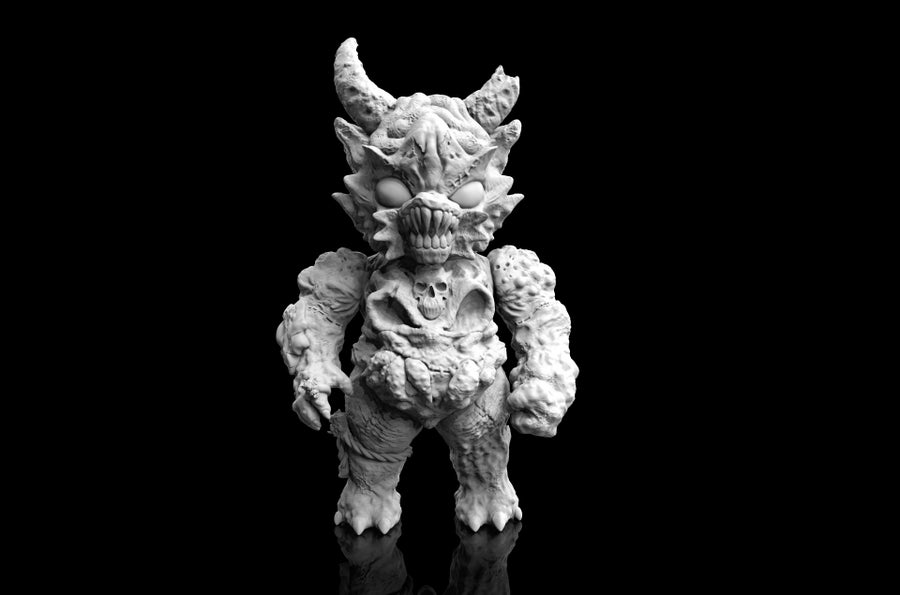 Image of [Blank] Demon Kaimu - White