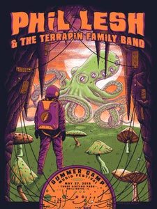 Image of Phil Lesh & The Terrapin Family Band at Summer Camp Fest Poster
