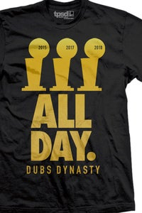 Image of Dubs All Day Gold 2018