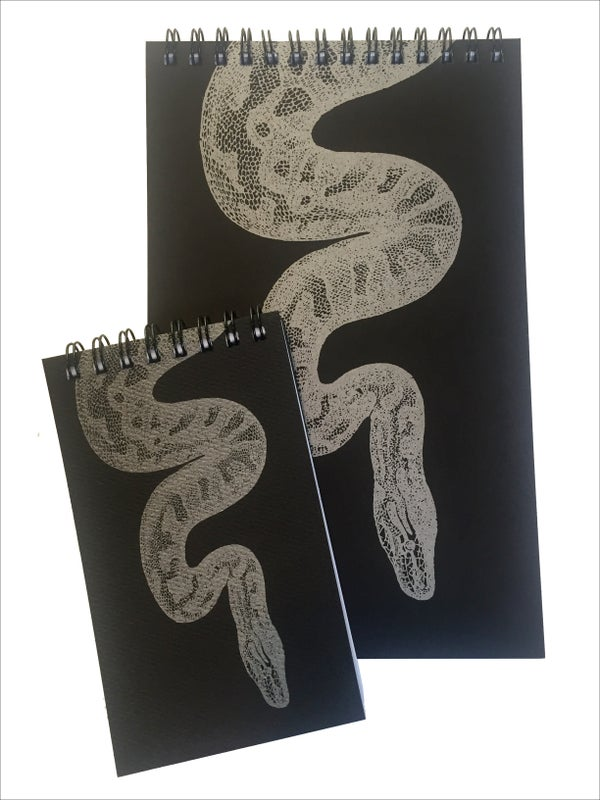 Image of Snake Notepads