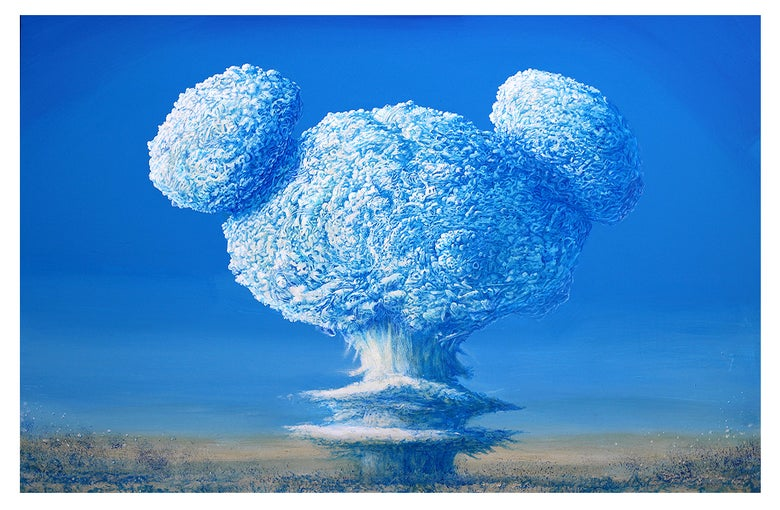 Image of Mikey H-Bomb Jeff Gillette signed, numbered ltd. giclée