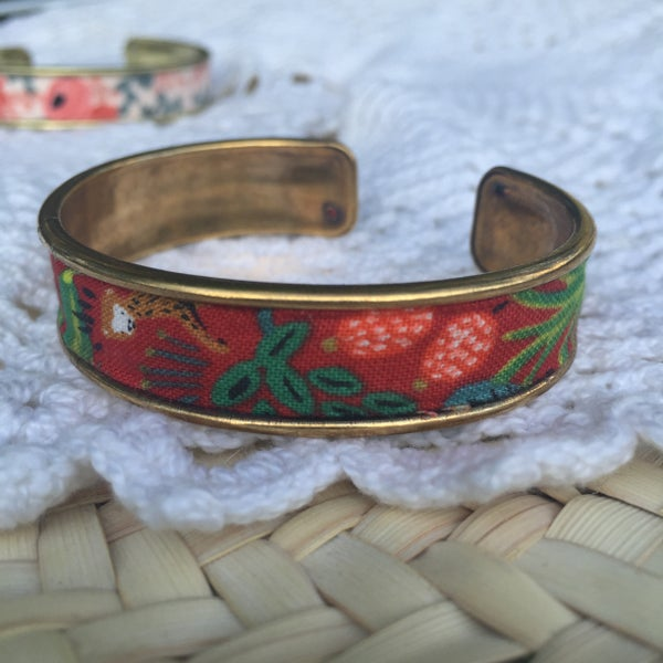 Image of Bracelet Elena rouge