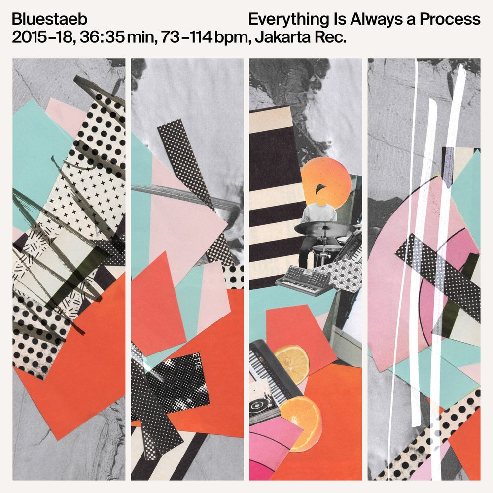 Image of Bluestaeb - Everything Is Always A Process - LP (JAKARTA)