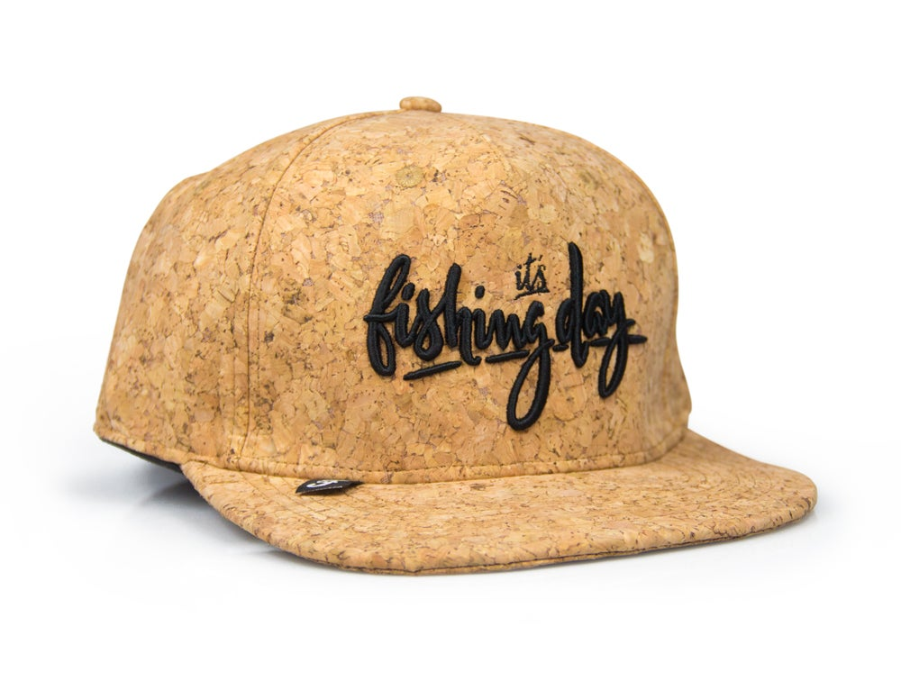 Image of it´s fishing day snapback