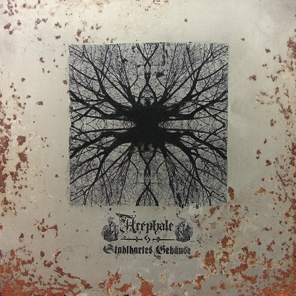 Image of L'ACEPHALE - Stahlhartes Gehäuse / VINYL 2LP (golden & black haze, ltd. 300) [US import]