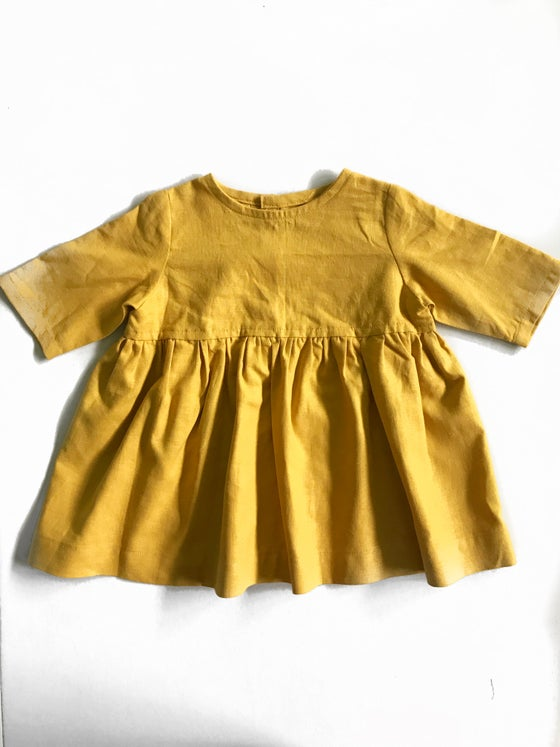 Image of [18 Months] Twirl Dress in mustard