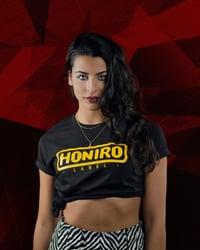 HONIRO LABEL CLASSIC LOGO BLACK - HONIRO STORE